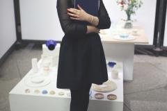 """Sandra Pytlik """"Rola projektowania usługi w procesie projektowania produktu. Ekologiczne opakowania kosmetyczne.""""  promotor: prof. Marek Adamczewski, fot. T.Kwiatkowski"""