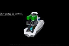 """Michał Jarzębowski """"Autonomiczny robot rzeczny. Integracja technologii z naturalnymi procesami hydrologicznymi"""", promotor: dr Paweł Gełesz"""